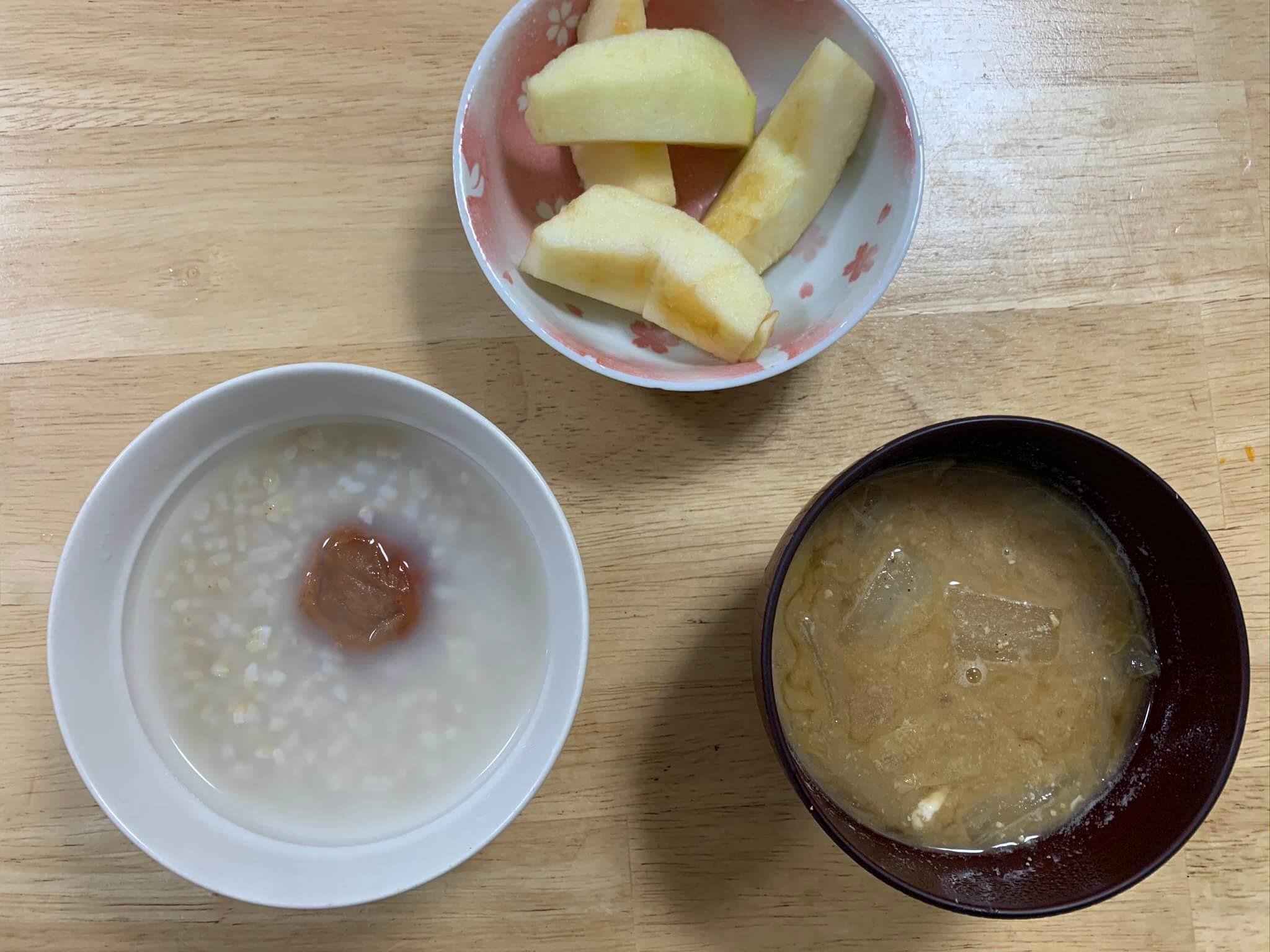 【断食】ファスティング回復食3日目のメニュー 玄米取り入れました